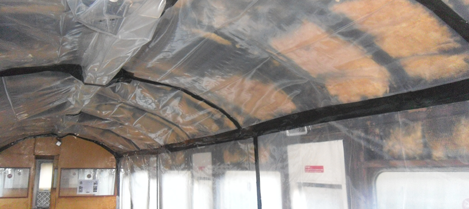 Licensed removal of asbestos